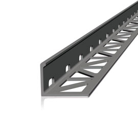 The new profile offers a combined solution for edge and drainage of balconies and terraces.